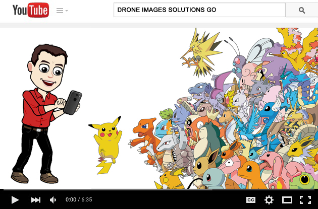 pokemon drone